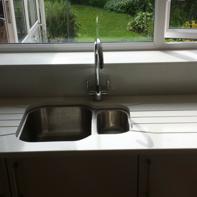 Stylish Worktop and Sink Worcester
