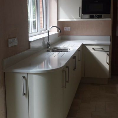 Solid Kitchen Worktop Installation Worcester