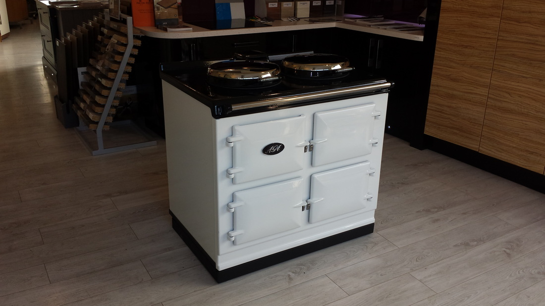 Our Latest AGA Installation at our Malvern Showroom Worcester
